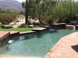 Concrete Pool #019 by Stoker Pools