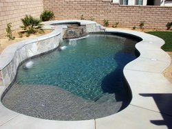 Concrete Pool #024 by Stoker Pools
